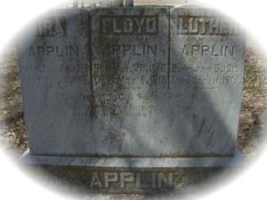 applin children gravestone