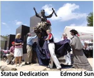 nannita daisey statue edmond sun