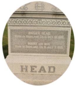 BiggerHeadHeadstone