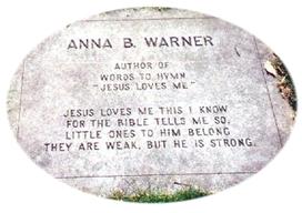AnnaBartlettWarnerGrave