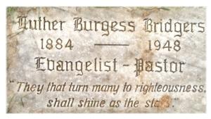 LutherBurgessBridgersGrave
