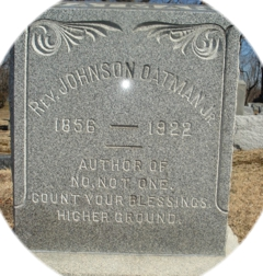 JohnsonOatmanGrave