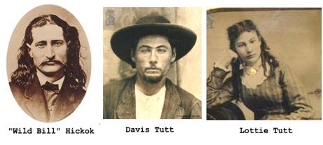 Resultado de imagen para Wild Bill Hickok and Davis Tutt
