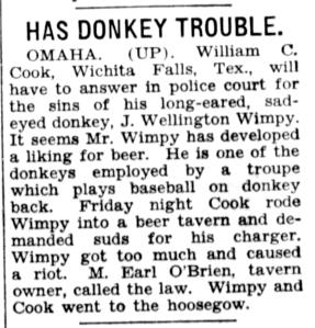 HasDonkeyTroubles_LincolnStar_22 Jul 1934